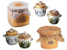 Мёд и орехи в меду